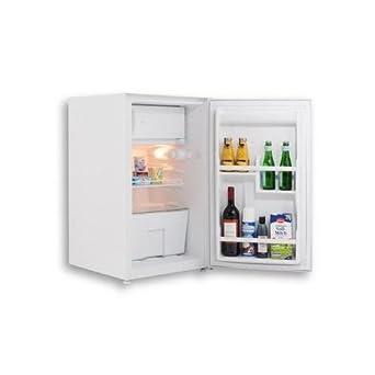 Techwood MK0004 Kühlschrank 76 Liter, Gefrierfach 10 Liter,  Unterbaukühlschrank, Kühlschrank In Weiß,
