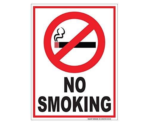 (Set of 2) No Smoking Sign - 6