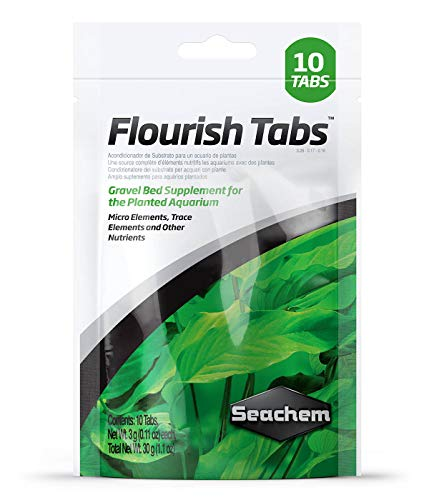 Seachem Flourish Tabs 10 Count (Best Planted Tank Fertilizer)