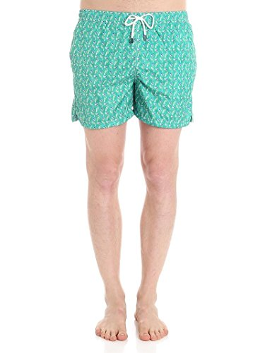 Fedeli Men's 1Ue00318b050712 Green Polyester Trunks by Fedeli