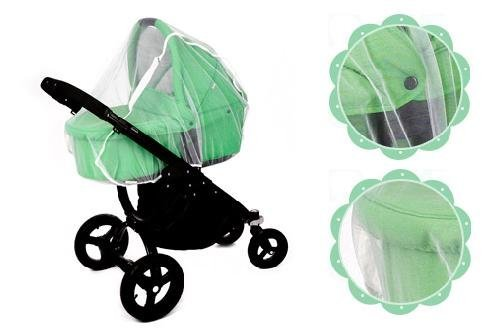 Baby Stroller or Bassinet Insect Bug Mosquito Net Mesh Ania