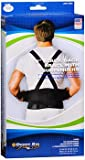 Sport Aid 9 in Black Back Brace with Suspenders MD/LG - Each, Pack of 4