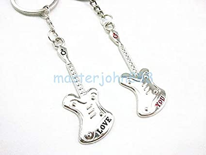 Amazon com: CUSHY 1 Pair of Couple Love You Electric Guitar