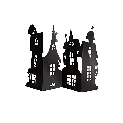Haunted House Centerpiece Party - House Paper Haunted