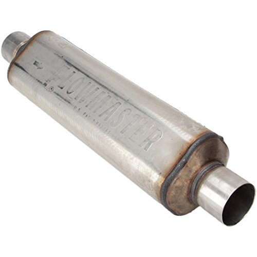 - Flowmaster 12518304 Hushpower II Muffler - 2.50 In/Out 18L 304S