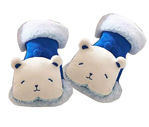 East Majik Plush Cartoon Animal Gloves Winter Gloves