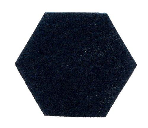 Scotch-Brite 09634 Low Scratch Scour Pad 2000Hex, Blue (Pack of 15)