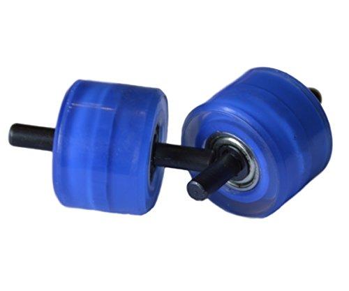 Weilisi Ersatzrollen für Automatische Roll-Sneaker - Verschiedene Farben Blau