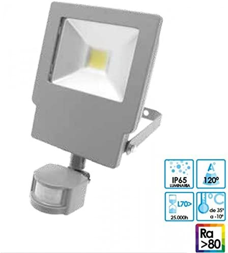 Prilux green led - Proyector energy neo led-iv 20w 850 ip65 sensor ...