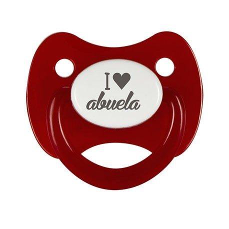 Chupete I Love Abuela: Amazon.es: Bebé