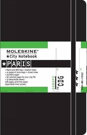 Moleskine S0620X - Cuaderno Paris City Europe - France Alben Immerw. Kalender Postkartenbücher