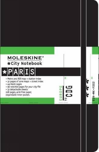 Moleskine Journey City Notebook, Paris, Hard Cover, Pocket (3.5