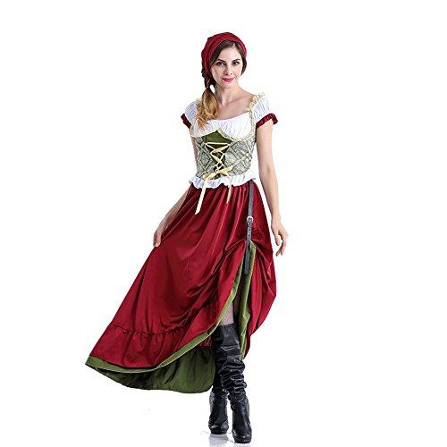 Gretchen Girl Adult Womens Plus Size Costumes (Women Deluxe Bavarian German Bar Maid Oktoberfest Fancy Dress Waitress Costume)