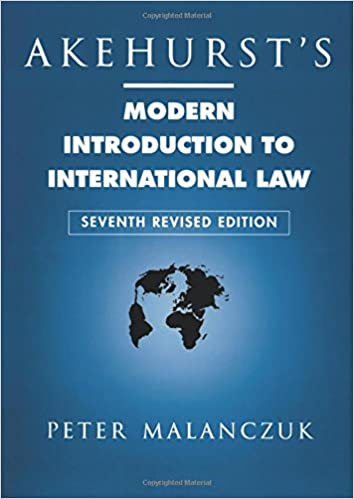 Amazon com: Akehurst's Modern Introduction to International