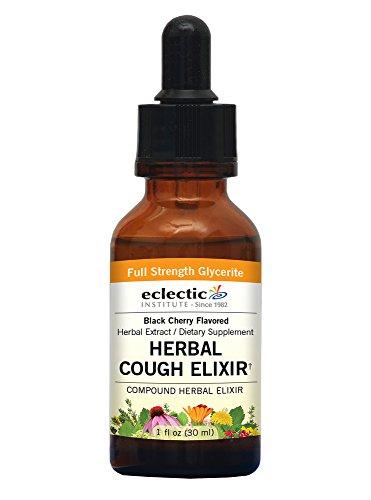 Eclectic Herbal Cough Elixir G, Orange, 1 Fluid Ounce