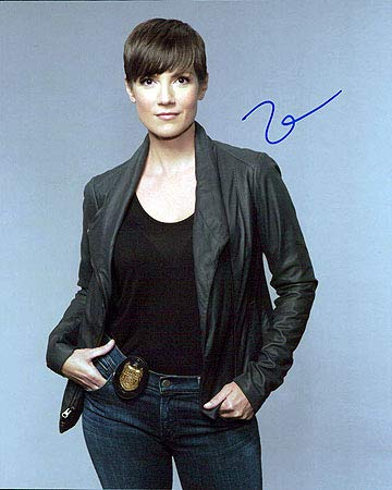 Zoe Mclellan Ncis New Orleans 8x10 Photo Signed In Person