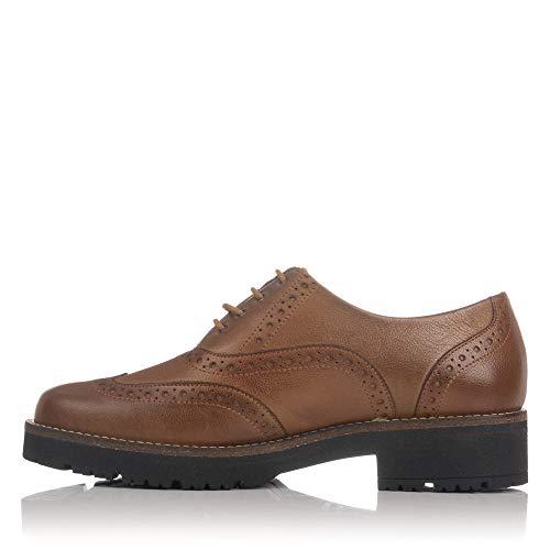 Cordones Vega Piel Cuero PITILLOS Mujer Pala Zapato 5390 OwzqBqvt