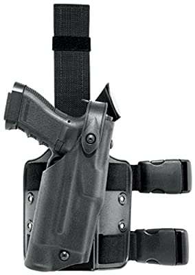Safariland 6304 ALS Tactical Leg Holster, Black, STX, Glock 17/22 with ITI M3