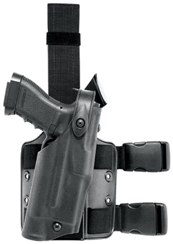 Safariland 6304 ALS Tactical Leg Holster, Black, Right Hand, Glock 17/22 with ITI (Als Tactical Holster)