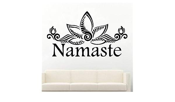 Namaste Wallpaper extraíble decoración del hogar etiqueta de ...