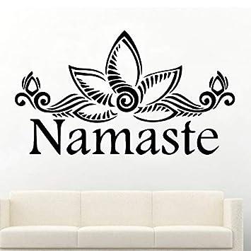 Namaste Wallpaper extraíble decoración del hogar etiqueta de la ...