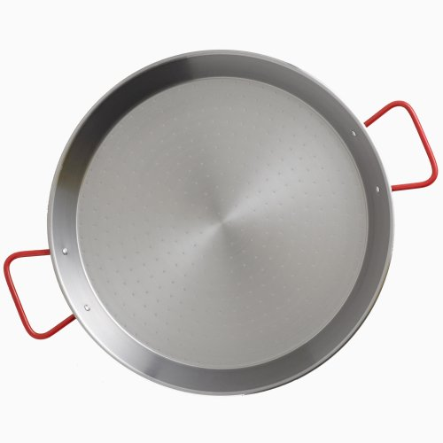 Garcima 15-Inch Carbon Steel Paella Pan, (Carbon Steel Paella Pan)