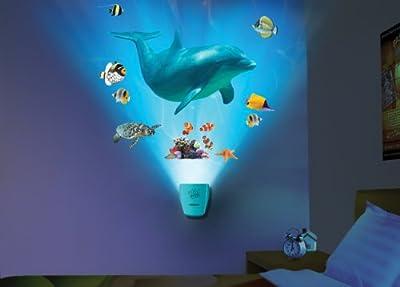 Shark Wall Decal Light & Sound Show