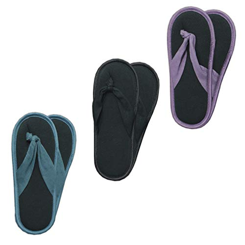 GAWILO 3 Paar rutschfeste Damen Stoppersocken als Zehentrenner – ABS Socken – Haussocken – Hausschuhe – ideal für den Sommer