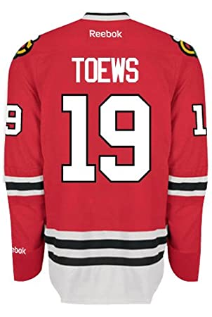 85501ba1aff Jonathan Toews Chicago Blackhawks NHL Home Reebok Premier Hockey Jersey,  Jerseys - Amazon Canada