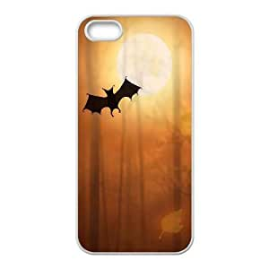 iPhone 4 4s Cell Phone Case White Halloween Bats P6T1BZ