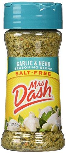 Mrs. Dash Garlic & Herb All Natural Seasoning Blend 2.5 oz