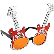 Amscan Party Ready Rock Star Guitar Funshades Accessory, Plastic, Standard Size