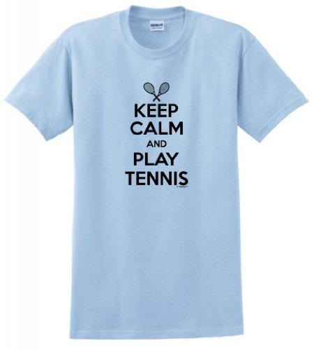 Keep Calm Play Tennis T Shirt