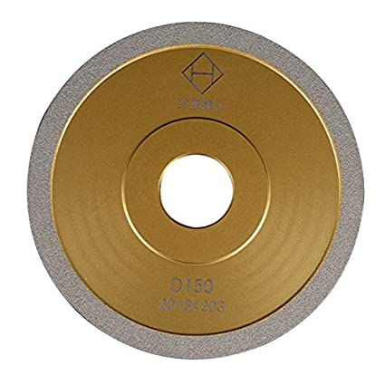 Utoolmart 100mm Outside Dia Brown Corundum Wheel Grinding Wheel 20mm Thick For Grinding Metal Materials With Medium 2pcs