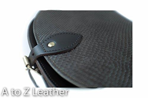 Leather Main Cross Et Sangle Serpent To Vžritable Z Boucle Noir ˆ Saddle Cuir Body Patterned Sac A Avec Imprimer Ržglable Fermeture 8qEPFwF