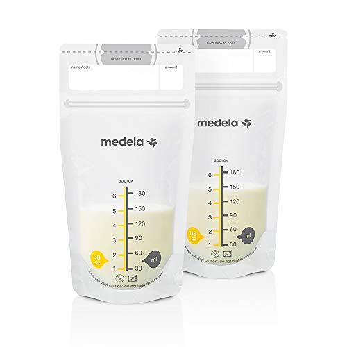 Medela Pump and Save Breast Milk Bags 50 Count