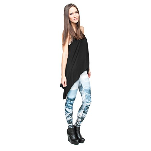 zumprema froid Pantalon d'hiver pour femme, multicolore, Taille unique