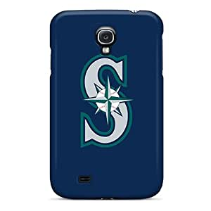 Hard Plastic Galaxy S4 Case Back Cover,hot Baseball Seattle Mariners 1 Case At Perfect Diy