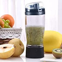 Bhajan Electric Protein Shaker Blender Automatic Movement Tornado Transparent Mixer Cup