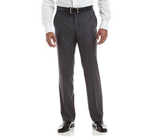 UPC 023804330951, Kenneth Cole New York Men's Charcoal Slim-Fit Suit Separates Pants 32x32