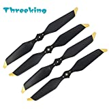 Mavic Pro Low-Noise Propellers Threeking DJI Mavic Pro / DJI Mavic Pro Platinum Low-Noise Quick-Release Propellers 2 Pairs - Gold Strap