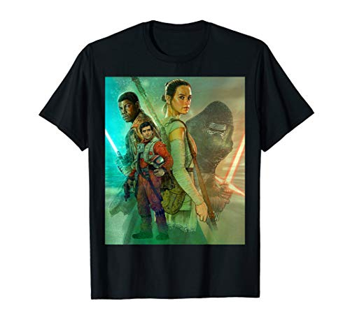 Star Wars Celebration Mural The Force Awakens T-Shirt