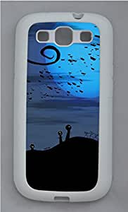 Samsung Galaxy S3 I9300 Cases & Covers - Twisted Graveyard TPU Custom Soft Case Cover Protector for Samsung Galaxy S3 I9300 - White
