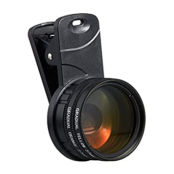 1 Set Aquarium Fish Tank Coral Reef Lens Phone Camera Filters Lens + 1  Macro Lens Fish Aquatic Terrarium Accessories Supplies