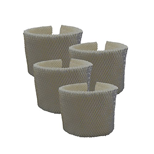 Air Filter Factory 4 Pack Compatible Humidifier Wick Filters For Kenmore 758.15408, 758.154080, 758.17006, 758.29706, 758.29988, 758.29880C by Air Filter Factory