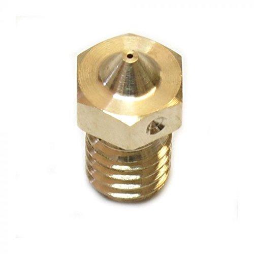 Genuine E3D Brass V6 Nozzle 3.00mm x 0.40mm V6-NOZZLE-300-400
