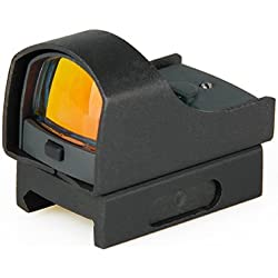 DLP Tactical Micro-Point Pro RMR Miniature Reflex Dot Sight with Picatinny Mount for Handgun or Rifle