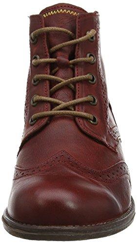 Josef Seibel Women's Sienna 15 Ankle Boots, Black, 6 UK Red (Wine 647)