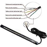 Amazon.com: Krator TL-GJ-022-1M Black Turn Signals (Custom ... on