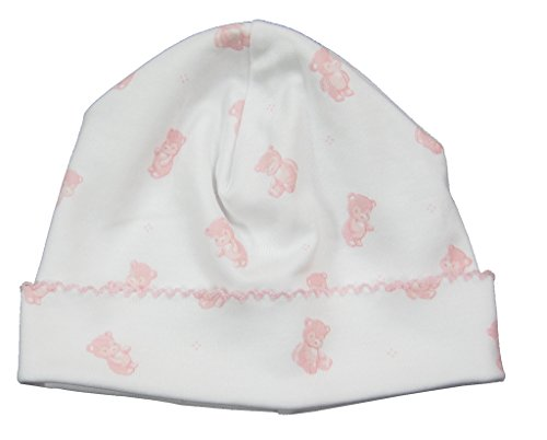kissy-kissy-baby-girls-infant-tiny-teddy-print-hat